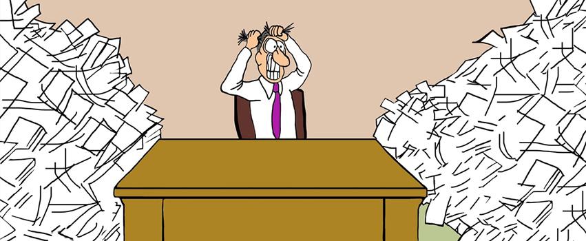 Exemple d'un courtier débordé qui doit améliorer la gestions de son cabinet de courtage en assurances